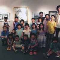 茨木市立ギャラリー展示会場にて