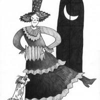 月と猫とダンス 6号