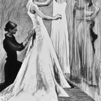 白いドレス 10号