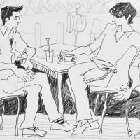 オープンカフェスケッチⅠ