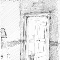ホテルの朝II〈ドブロブニク〉