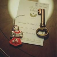 ドブロブニクの五つ星ホテルの部屋の鍵