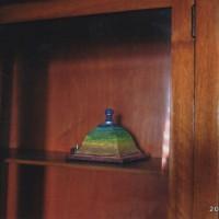 啓がイタリアで造ったアート作品?を泊まった部屋の何もない棚に置いてた すごく自然にそこに合ってた