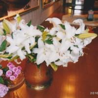 結婚記念日の花と母の日の花 全て思いがベースにあります。 花はその時の「心」を現しているといつも思ってます。