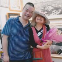 東京の志田さんがお仕事の「ついで」に立寄ってくれた。
