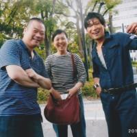 志田さん、植本さん、啓の若者達に助けられて今回の20年ぶりの参加イベントも無事終了です。(搬出の後で)ありがとうございました。