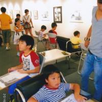子供達の模写の時間 子供達の成長はスゴイ 集中して1時間半で描きあげることが出来るのだ