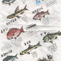 愛媛県で買った品物が入った袋