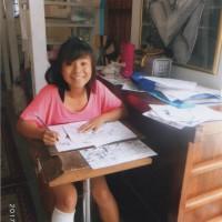 萌咲ちゃんは鉛筆画が大好き!