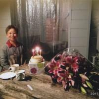 恵子の誕生日。20年前の頃と同じ場所で。